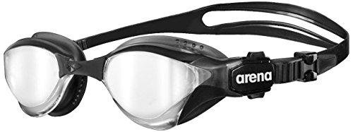 ARENA Gafas de natación para triatlón unisex Cobra Tri Mirror, silver-black-black, one size gafas...*