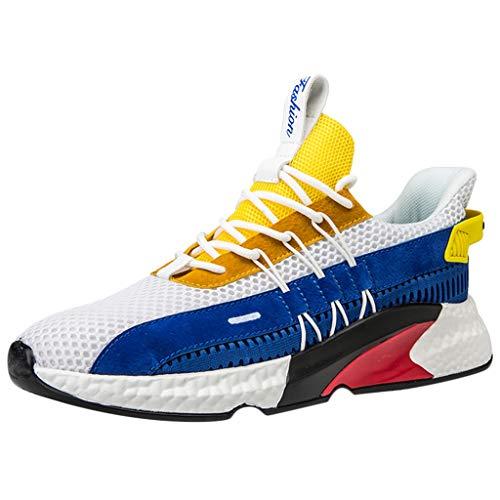 YWLINK Zapatos Hombres,De Deporte Transpirables Tejidos La Plataforma Al Aire Libre De La Malla...*