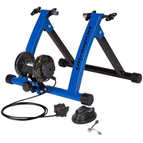 Ultrasport Rodillo para Bicicleta con y Sin Cierre Rápido, Carga Máxima 100 kg, Permite Entrenar...*