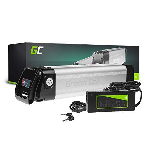 GC® Bateria Bicicleta Electrica 24V 10.4Ah Silverfish Li-Ion E-Bike Batería y Cargador*