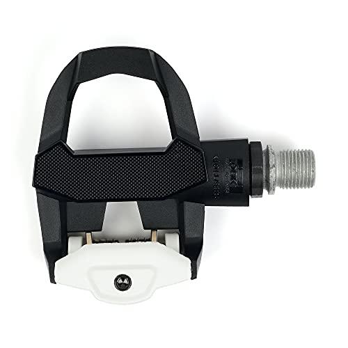 LOOK Cycle - Pedales de Bicicleta Clásicos KEO 3 - Pedales sin Clip, Ärea de Plataforma 400 mm² - Tensión Fácilmente Ajustable - Cuerpo de Material Compuesto - Eje de Cromoly - Color Negoro