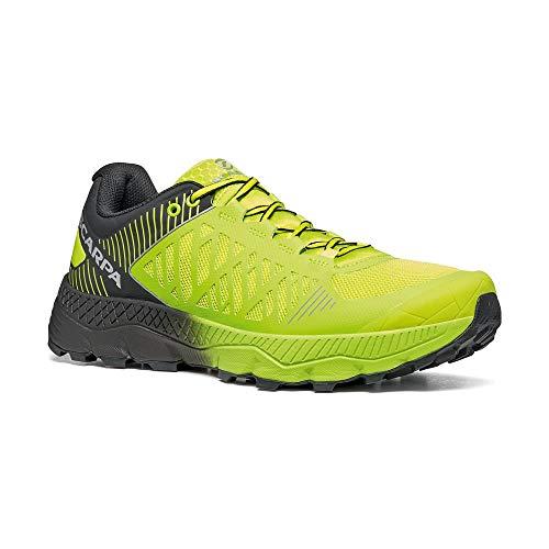 Scarpa SPIN Ultra, Zapatillas de Trail Running Unisex Adulto, Acid Lime-Black ARS6 Velox MAX LB, 43.5 EU