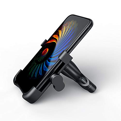 Suxman Soporte Moto Móvil, Bici, Motocicleta Carretera de Aluminio, Anti Vibración con 360° Soporte Universal Antideslizante para iPhone X, 8/7/6s 6 Plus,Samsung Galaxy S9/S8/ S7