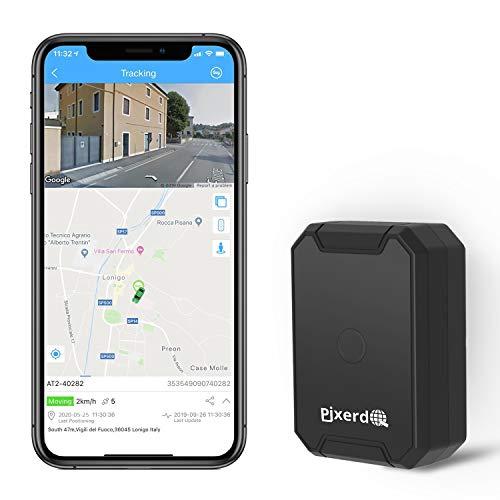 AT1 GPS Tracker Magnético, 6000mAH Localizador GPS para Coche sin Tarjeta SIM para Moto Bicicleta...*