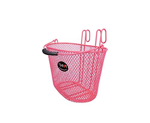 P4B Cesta de bicicleta moderna para niños, para colgar en el manillar, cesta para la rueda...*