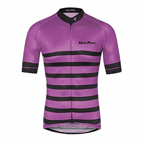 UGLY FROG Uglyfrog Maillot Ciclismo Hombre Verano Maillot Bicicleta Montaña Bike MTB Camiseta con Mangas Cortas