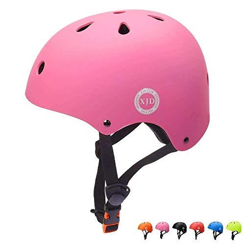 XJD Casco de Ciclismo para Niños Ajustable y Resiste al Impacto Ventilación con Muchos Colores...*