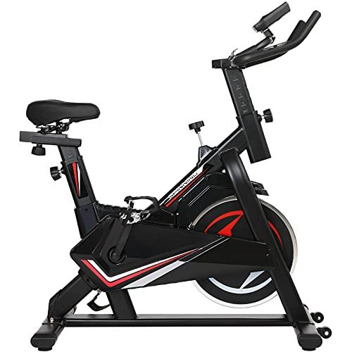 Bicicleta Estática, Altura Ajustable para Cinco Niveles, con Indicador LCD de Datos, Carga: 150kg /...*