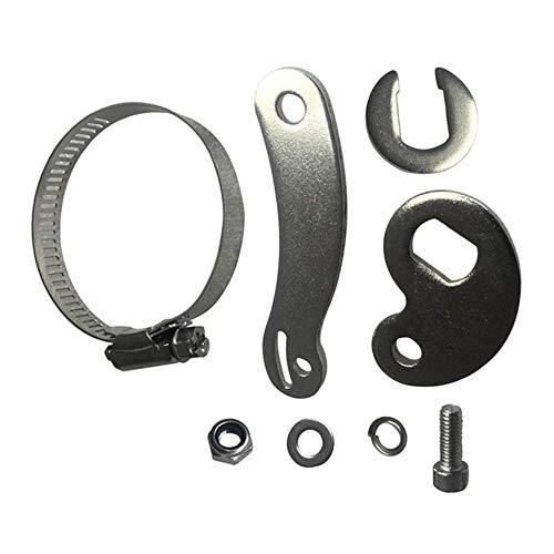 Brazo de par SCHUCK (M14), apto para rueda delantera y trasera de la bicicleta eléctrica, brazo de reacción del kit para bicicleta eléctrica Motor del buje BLDC