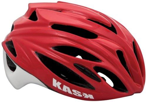 Kask Rapido - Casco para Bicicleta de Carretera, Color Rojo, Talla L (59-62 cm),Talla L (59-62 cm)*