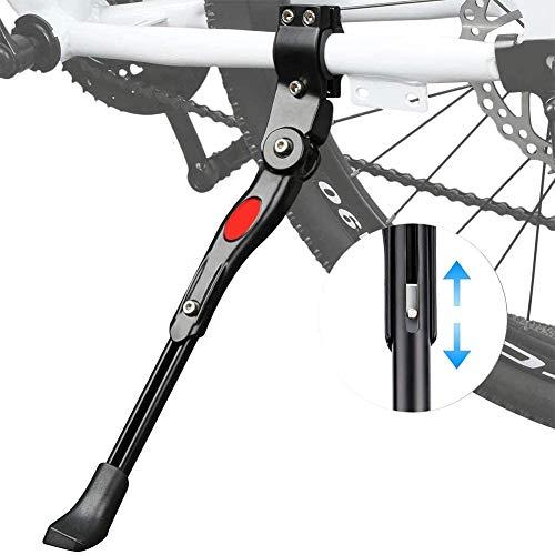 Pata de Cabra para Bicicleta - Soporte de Bicicleta de Aluminio, Soporte de Altura Universal...*