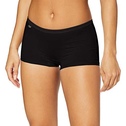 Sloggi Basic+ Short Culotte, Negro (Black 0004), 44 para Mujer*