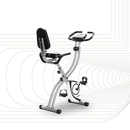 SportPlus Heimtrainer S-Bike - Bicicleta estática y de spinning para fitness, talla standard