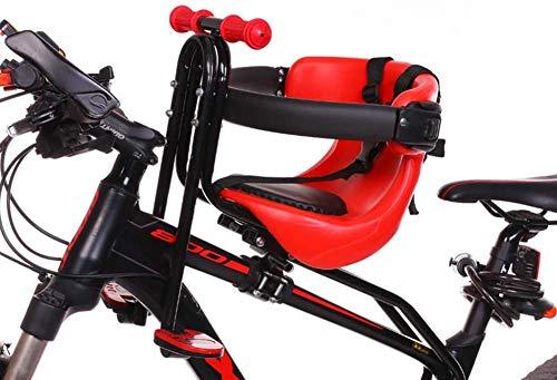Sillas de Bicicletas Sillín Infantil Portabebés para Bicicleta con Pedales Respaldo Hasta100kg De...*