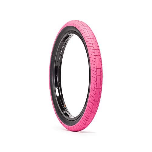 SALTPLUS Sting BMX - Neumático para bicicleta (2,40 pulgadas), color rosa y negro*