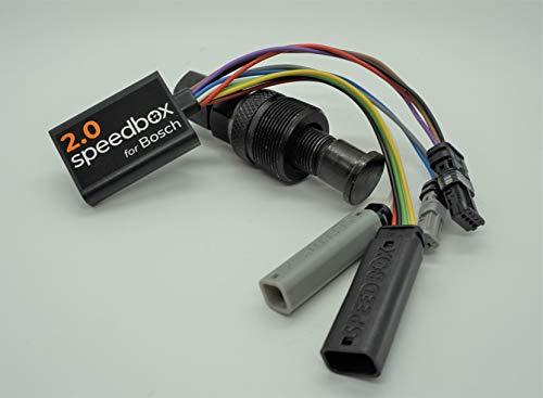 Speedbox E-Bike 2 motores Bosch Pedelec con indicador de velocidad, incluye extractor de bielas.
