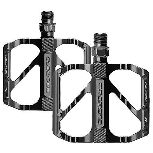 Pedales Bicicleta, Pedales Bicicleta Montaña de Aleación de Aluminio Pedal DU 9/16