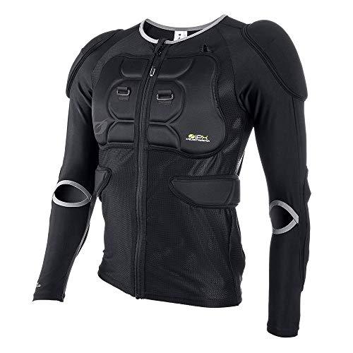 O'Neal | Chaqueta protectora | Motocross Enduro | Malla elástica de 4 vías/lycra, con espuma de poliuretano, acolchado de bioespuma | BP Protector Youth Jacket | Niños | Negro | Talla M
