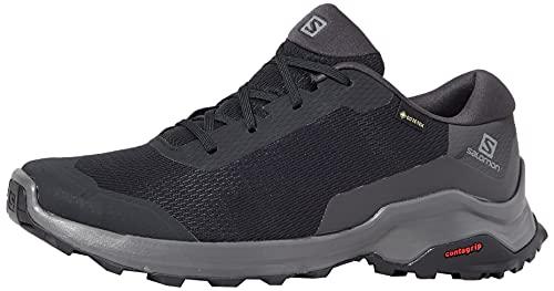 Salomon X Reveal GTX Zapatillas De Senderismo para Hombre, Negro (Black/Phantom/Magnet), 40 2/3 EU