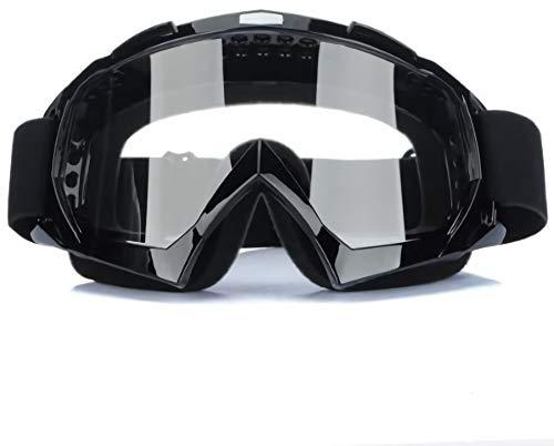 Gearmax® Motocross Vidrios a Prueba de Viento Transparente UV Goggle Prueba de Polvo*