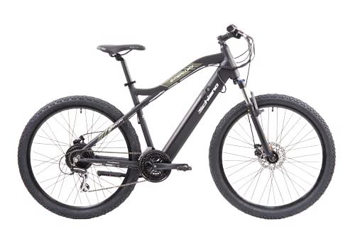 F.lli Schiano E- Mercury Bicicleta, Adulto Unisex, Negra, 29 ''*