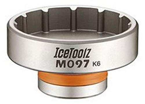 IceToolz - Llave desmontada para pedalier Race Face Cinch, Rotor/Enduro, Unisex Adulto