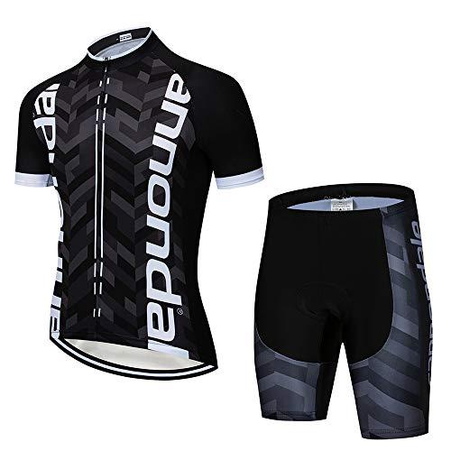 MTBHW Conjunto Traje Ciclismo para Verano Maillot Ciclismo y Pantalones Cortos Bicicleta con 3D Gel...*