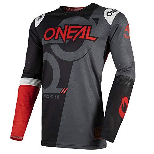 O'Neal | Maillot de Ciclismo de Manga Larga | MX MTB Motocross Mountainbike DH FR | Mangas sin Mangas, Ajuste, Materiales duraderos | Maillot prodigio Five Zero | Adultos | Talla S (44/46)