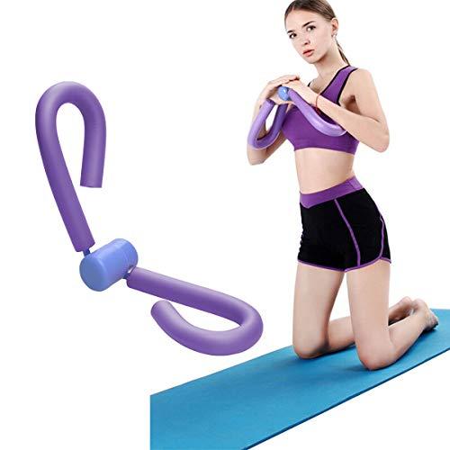 COVVY Thigh Master - Tóner de Muslo para ejercitar Muslos, piernas, Brazos, Pecho, Culturismo, pérdida de Peso, Equipo de Entrenamiento para el Gimnasio en casa (Púrpura)