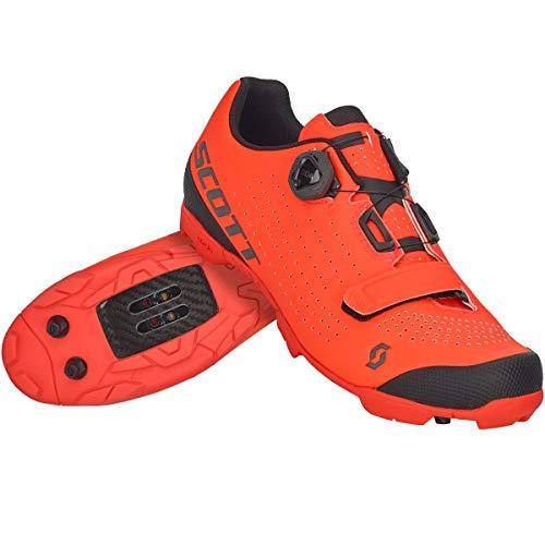 SCOTT Zapatilla MTB VERTEC Boa Ciclismo, Hombre, Neon Orange/Black, 45