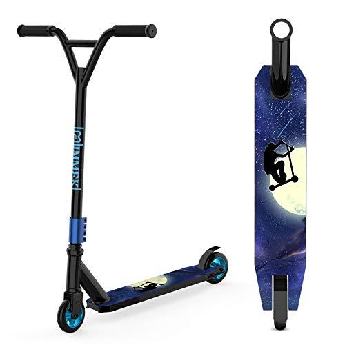 IMMEK Patinete Freestyle 2 Ruedas Scooter de Acrobacias Skate para Niño 6+ Años Adolescentes y...*