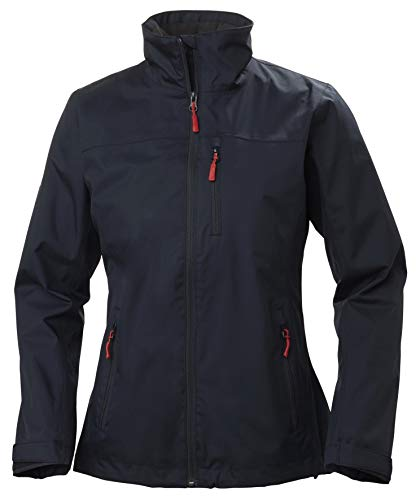 Helly Hansen W Crew Midlayer Jacket Chaqueta Impermeable, Mujer, Navy, S*
