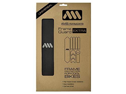 All Mountain Style Amsfg2bksv Protector De Cuadro, Unisex Adulto, Negro/Plata, XL*