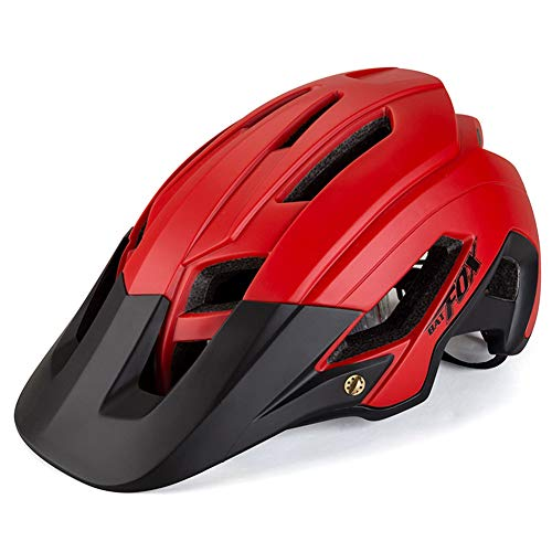 Brony Casco De Bicicleta para Adultos Resistente A Los Golpes Ligero EPS PC Sports MTB Protector De...*