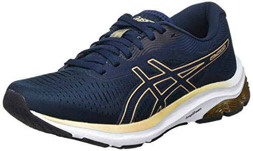 Asics Gel-Pulse 12, Road Running Shoe Mujer, French Blue/Champagne, 40 EU
