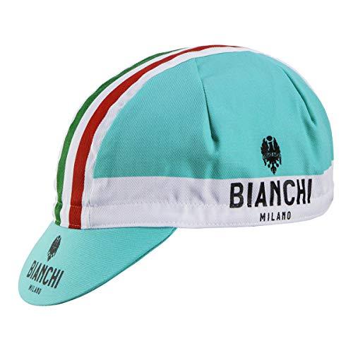 Bianchi Milano Gorra de Ciclismo Unisex de neón, Unisex, Gorra de Ciclismo, 01698604200C000.07...*