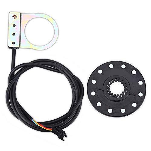 Sensor del Pedal - Pedal de Bicicleta eléctrica 12 Imanes E-Bici del Sensor de Velocidad del Sensor Pas Sistema Auxiliar