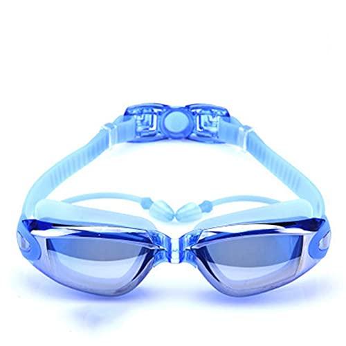 Gafas de natación, paquete de 2, gafas de natación para adultos, hombres, mujeres,...*