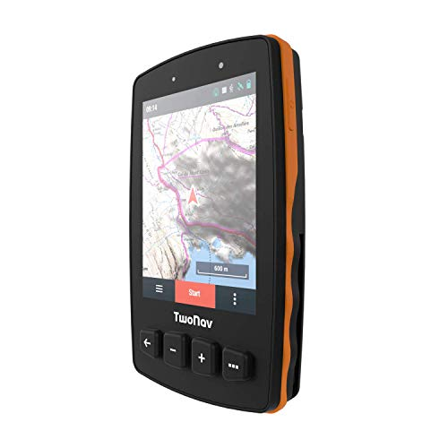 TwoNav - GPS Trail 2 - Senderismo Trekking / 4 Botones Frontales/Pantalla 3.7