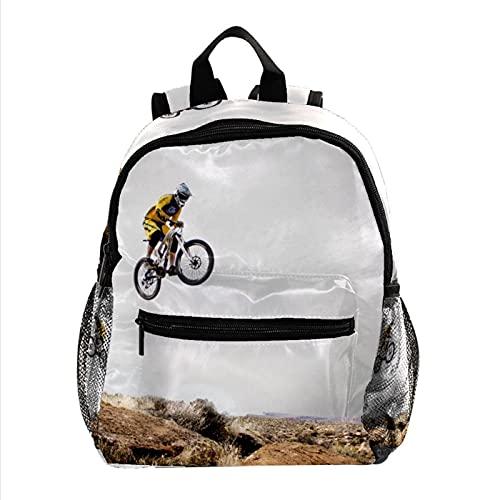Mochila para niños y niñas, mochila para niños pequeños, para motocicleta, motocross, moto (73),...*