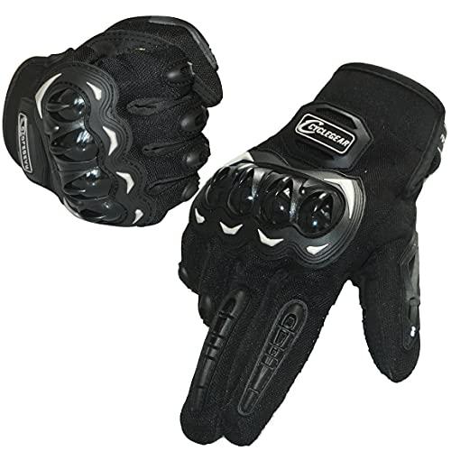 TRABIG Guantes Moto Verano Tejido Transpirable Pantalla Táctil, a Prueba de Viento, Guantes...*