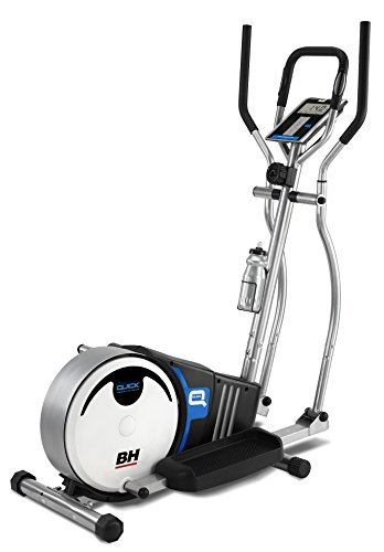 PROACTION Bicicleta Elíptica BH Quick. Sistema inercial 8kg. Freno magnético. Zancada 36cm....*