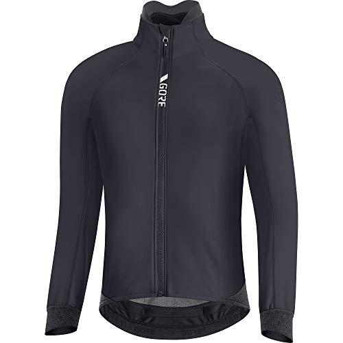 GORE WEAR Chaqueta térmica de ciclismo para hombre, C5, GORE-TEX INFINIUM, XL, Negro