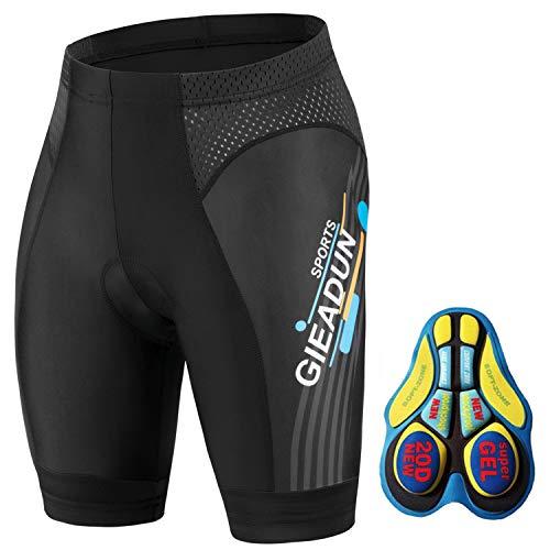 BRZSACR Culottes Ciclismo Hombre con Gel Acolchado Pantalones Cortos Ciclismo, Ciclismo Pantalones...*
