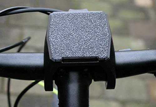 F3D Tapa compatible con soporte de pantalla Bosch eBike Nyon 2020/2021, tapa protectora (negro)*
