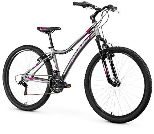Anakon Enjoi Bicicleta de montaña, Mujer, Gris, S*