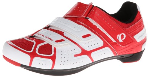 PEARL IZUMI Select Road RD III Zapatillas de Carretera, Hombre, Blanco/Rojo, 45