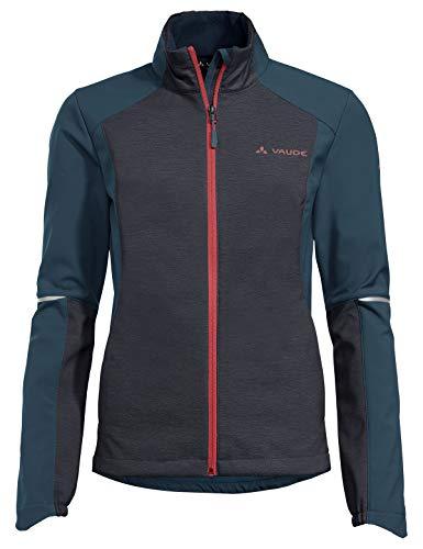 VAUDE Wintry Jacket IV - Chaqueta para mujer, Mujer, Chaqueta, 41656, azul, 38