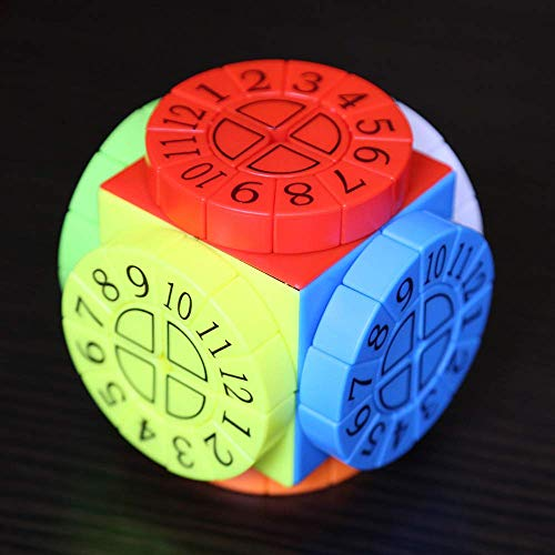 H-O Speed Dice 3D Puzzle Juego Time Machine, Time Machine Composite Structure Shaped Cube...*