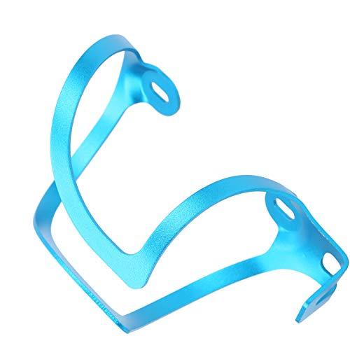 KASD Portabotellas Integrado para Bicicleta de montaña, Discos abrasivos de 5 Pulgadas Ciclismo y Senderismo Pesca Nocturna y Ciclismo Fácil de Usar y Quitar(Azul)